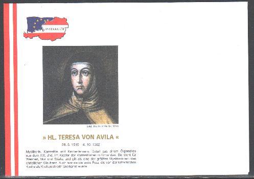 500 geburtstag heilige teresa von avila gilg - Teresa von avila zitate ...